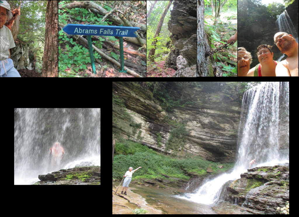 pics from trip to Abram's Falls