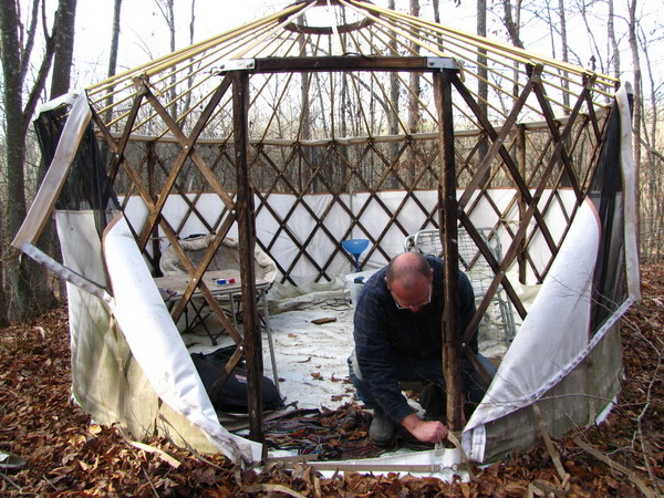 skinning the yurt