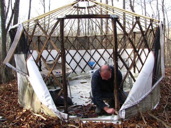 skinning the yurt
